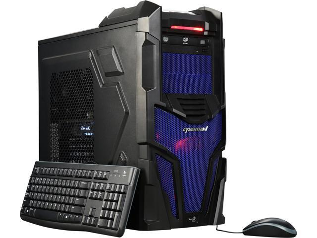 CybertronPC Desktop PC Shockwave-XB1070 Intel Core i7 6800K (3.40 GHz) 32 GB DDR4 2 TB HDD 240 GB SSD NVIDIA GeForce GTX 1070 Windows 10 Home 64-Bit