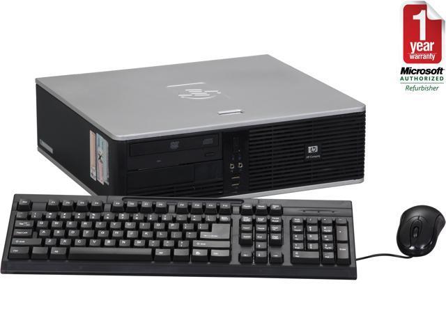 HP DC5700 Small Form Factor Desktop Intel Core2 Duo 2.13GHz 2GB RAM 160GB HDD DVDROM Windows 7 Home Premium