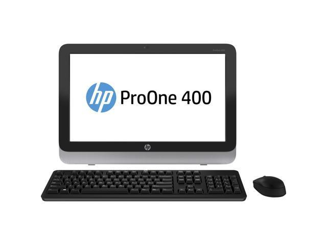"""HP All-in-One PC 400 (F4K70UT#ABA) Pentium G3420T (2.7 GHz) 4GB 500 GB HDD 21.5"""" Touchscreen Windows 8.1 Pro 64-Bit"""