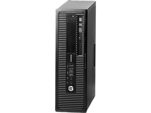 HP EliteDesk Desktop PC Intel Core i7 Standard Memory 4 GB Memory Technology DDR3 SDRAM 500GB HDD Windows 7 Professional