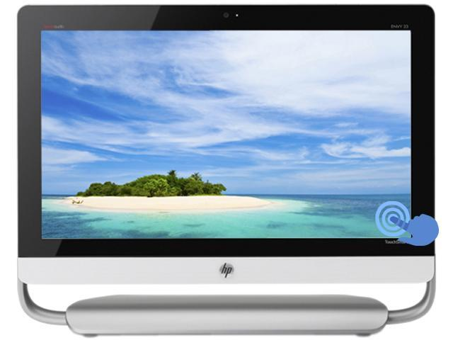 """HP All-in-One PC ENVY TouchSmart Intel Core i5 4440s (2.80 GHz) 8 GB DDR3 1 TB HDD 23"""" Touchscreen"""