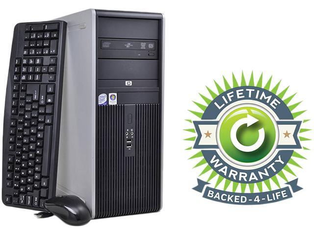 HP Compaq Desktop PC Core 2 Duo 3.0 GHz 4GB 160 GB HDD Windows 7 Professional