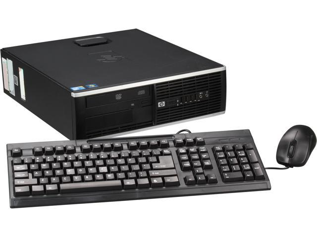 HP Elite 8000 [Microsoft Authorized Recertified] Small Form Factor Desktop PC with Intel Core 2 Duo E8400 3.00GHz, 4GB DDR3, 1TB HDD, DVDROM, Windows 7 Professional 64-Bit