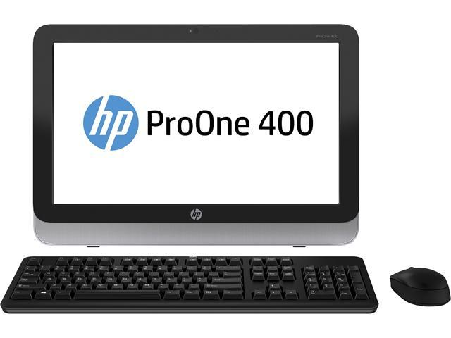 HP ProOne 400 G1 (G5R38UT#ABC) French All-in-One Computer Intel Core i5 4590T (2.0 GHz) 4 GB DDR3 Intel HD Graphics 4600 19.5