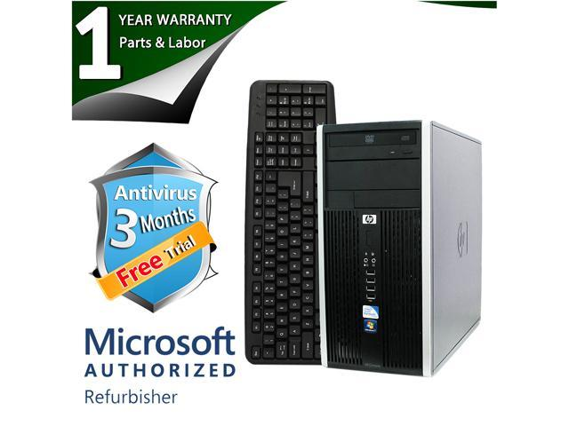 HP Desktop Computer 6000 Pro Core 2 Duo E8400 (3.00 GHz) 4 GB DDR3 250 GB HDD Intel GMA 4500 Windows 7 Professional 64-Bit