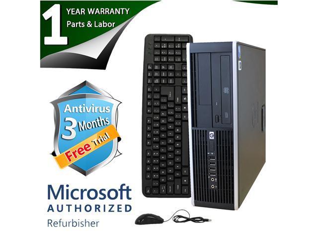 HP Desktop Computer 6005 Pro Phenom II X2 B55 (3.00 GHz) 4 GB DDR3 750 GB HDD ATI Radeon HD 4200 Windows 7 Professional 64-Bit