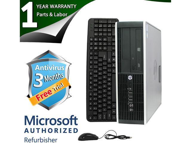 HP Desktop Computer Elite 8300 Intel Core i3 3rd Gen 3220 (3.30 GHz) 4 GB DDR3 1 TB HDD Windows 7 Professional 64-Bit