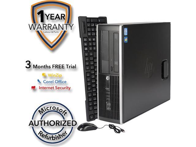 HP Desktop Computer 6200 Pro Intel Core i5 2nd Gen 2400 (3.10 GHz) 4 GB DDR3 1 TB HDD Windows 7 Professional 64-Bit