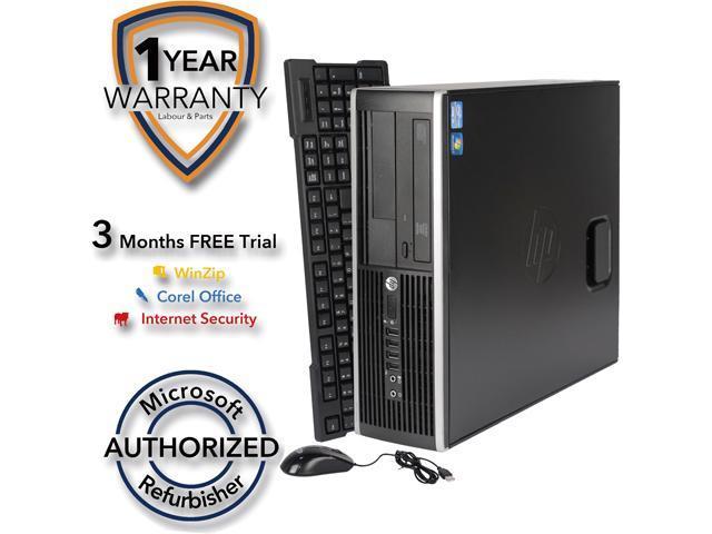 HP Desktop Computer 6200 Pro Intel Core i5 2nd Gen 2400 (3.10 GHz) 4 GB DDR3 320 GB HDD Windows 8.1