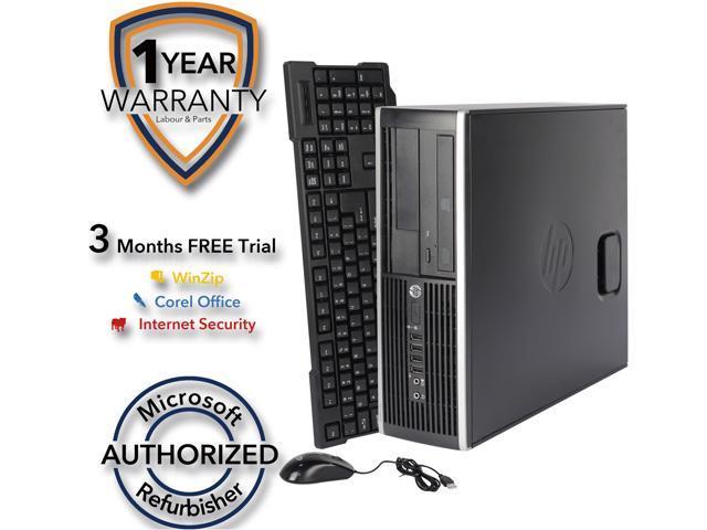 HP Desktop Computer Elite 8200 Intel Core i5 2nd Gen 2400 (3.10 GHz) 8 GB DDR3 320 GB HDD Intel HD Graphics 2000 Windows 7 Professional 64-Bit