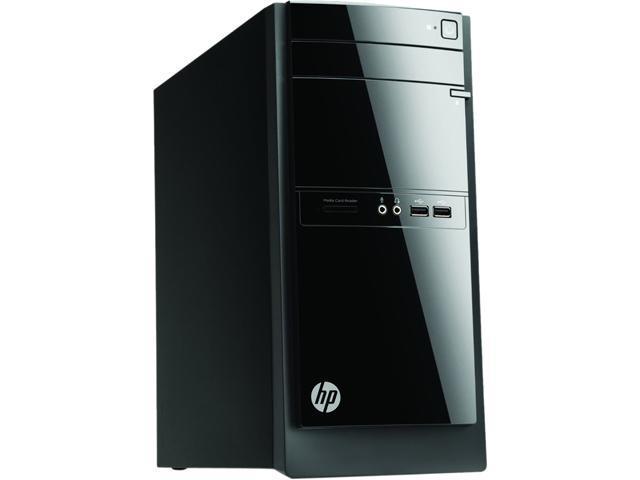HP Desktop Computer 110-014 AMD E-Series E1-1500 (1.48GHz) 4GB 500GB HDD Windows 8.1 Pro, 1 Year Warranty