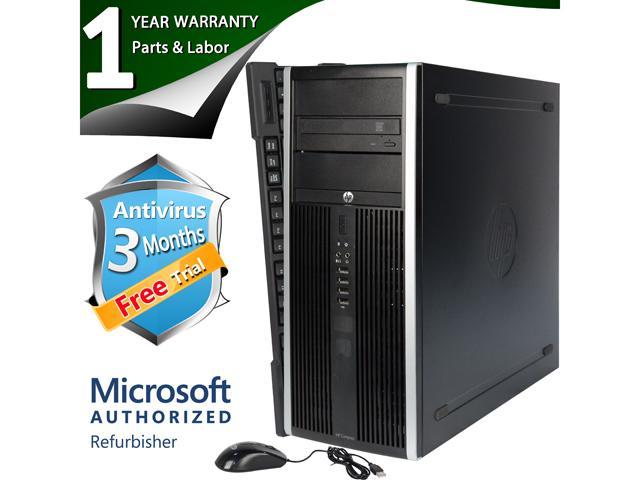 HP Desktop Computer Elite 8200 Intel Core i5 2400 (3.10 GHz) 8 GB DDR3 320 GB HDD Intel HD Graphics 2000 Windows 7 Professional 64 Bit