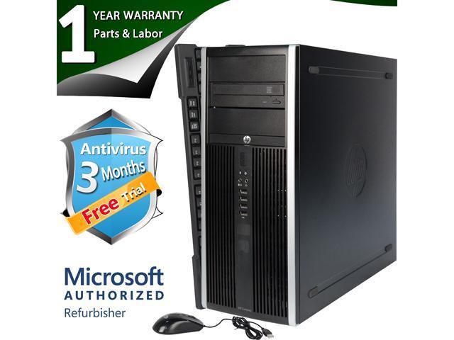 HP Desktop Computer Elite 8200 Intel Core i5 2400 (3.10 GHz) 8 GB DDR3 320 GB HDD Intel HD Graphics 2000 Windows 7 Professional 64 Bit
