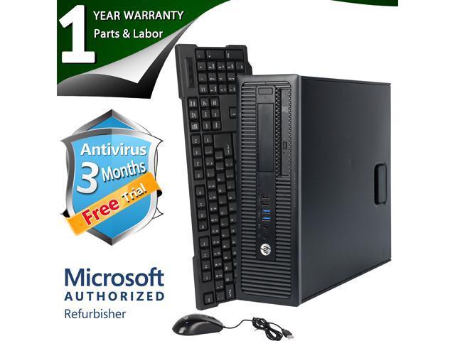 HP Desktop Computer EliteDesk 800G1 Intel Core i5 4th Gen 4570 (3.20 GHz) 8 GB DDR3 2 TB HDD Intel HD Graphics 2000 Windows 7 Professional 64 Bit