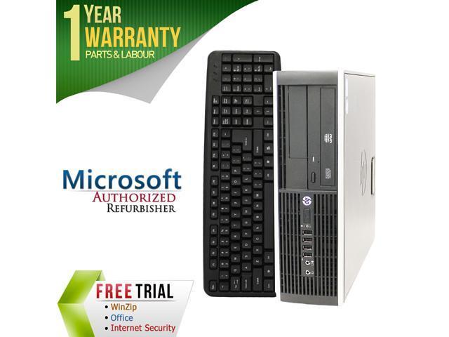 HP Desktop Computer Elite 8200 Intel Core i5 2nd Gen 2400 (3.10 GHz) 8 GB DDR3 2 TB HDD Intel HD Graphics 2000 Windows 7 Professional 64-Bit
