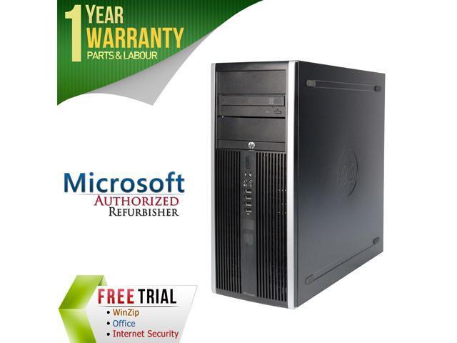 HP Desktop Computer Elite 8200 Intel Core i5 2400 (3.10 GHz) 16 GB DDR3 2 TB HDD Intel HD Graphics 2000 Windows 7 Professional 64-Bit