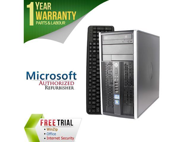 HP Desktop Computer 6200 Pro Intel Core i5 2400 (3.10 GHz) 16 GB DDR3 2 TB HDD Intel HD Graphics 2000 Windows 7 Professional 64-Bit