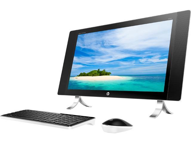 HP 24-n009 (N0A54AA#ABL) Bilingual All-in-One Computer Intel Core i5 6400T (2.20 GHz) 8 GB DDR3L 1 TB HDD Intel HD Graphics 530 23.8