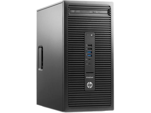 HP EliteDesk 705 G2 (P0D54UT#ABA) Desktop PC - AMD A4 PRO-8350B (3.5 GHz) 4 GB DDR3 500 GB HDD AMD Radeon R5 Windows 7 Professional 64-Bit (available through DG rights from Windows 10 Pro)