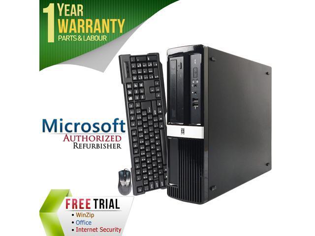 HP Desktop Computer 3000 PRO Pentium Dual Core E6600 (3.06 GHz) 4 GB DDR3 1 TB HDD Windows 7 Professional 64-Bit