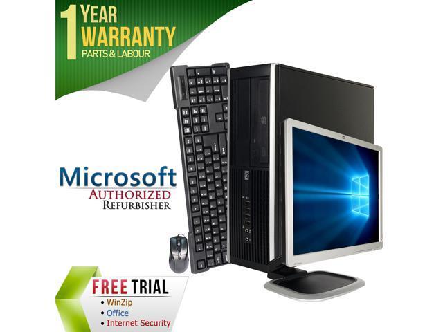 HP Desktop Computer 6000 Pro + 17