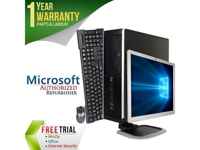 HP Desktop Computer ELITE 8000 + 19