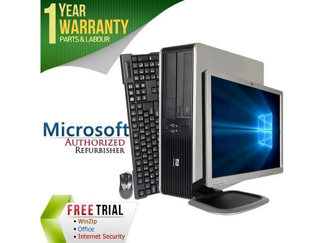 HP Desktop Computer DC7800 + 19