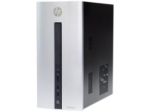 HP Desktop Computer Pavilion 550-A14 A8-Series APU A8-6410 (2.00 GHz) 8 GB 1 TB HDD AMD Radeon R5 Windows 10 Home