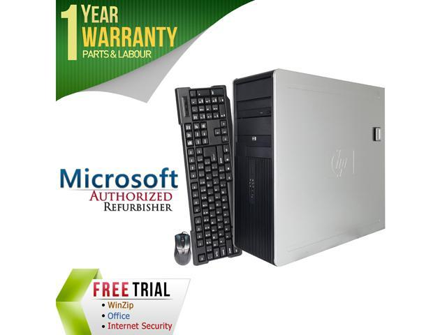 HP Desktop Computer DC7800 Core 2 Duo E8400 (3.00 GHz) 4 GB DDR2 500 GB HDD Windows 7 Professional 64-Bit