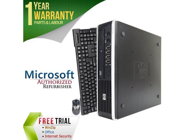 HP Desktop Computer Elite 8300 Intel Core i7 3770s (3.10 GHz) 4 GB DDR3 250 GB HDD Windows 7 Professional 64-Bit