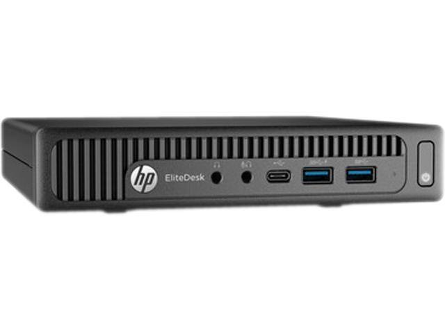 HP EliteDesk 800 G2 (P4K05UT#ABA) Desktop PC - Intel Core i5 6500T (2.50 GHz) 4 GB DDR4 500 GB HDD Intel HD Graphics 530 Windows 7 Professional 64-Bit (available through DG rights from Windows 10 Pro)