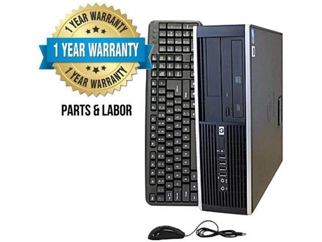 HP Desktop Computer 8000 Core 2 Duo 3.0 GHz 4 GB DDR3 250 GB HDD Windows 7 Professional