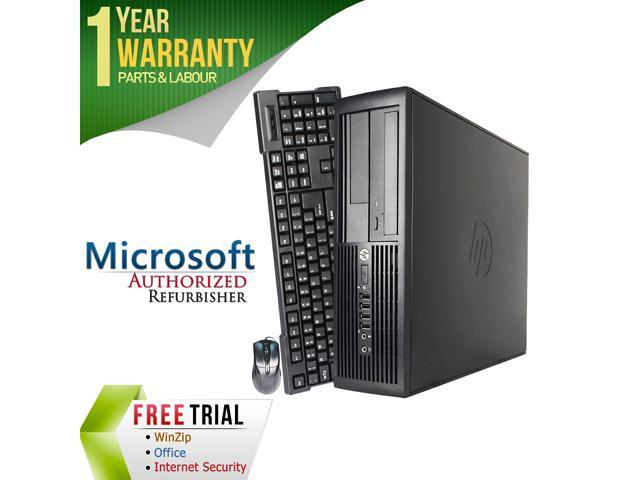 HP Desktop Computer Pro 4300 Intel Core i3 3rd Gen 3220 (3.30 GHz) 8 GB DDR3 2 TB HDD Intel HD Graphics 2500 Windows 7 Professional 64-Bit