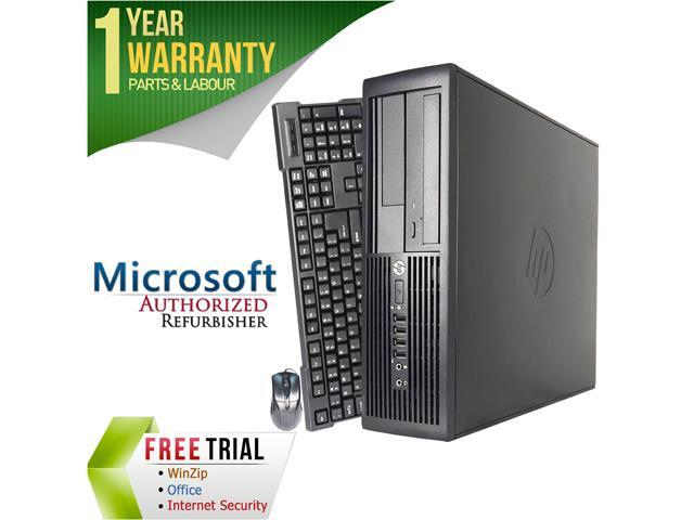 HP Desktop Computer Pro 4300 Intel Core i3 2nd Gen 2120 (3.30 GHz) 8 GB DDR3 2 TB HDD Intel HD Graphics 2000 Windows 10 Pro 64-Bit