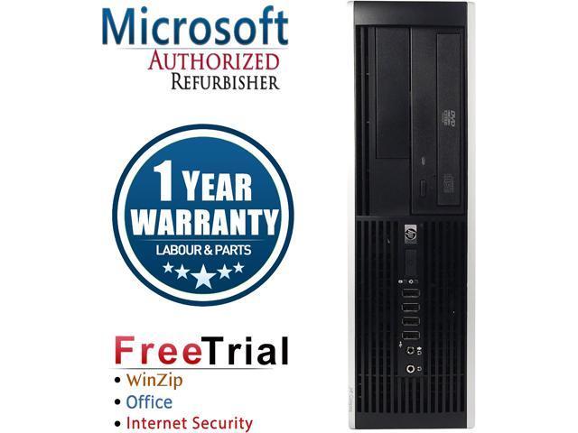 HP Desktop Computer 6000 Pro Pentium E6500 (2.93 GHz) 4 GB DDR3 1 TB HDD Intel GMA 4500 Windows 10 Pro