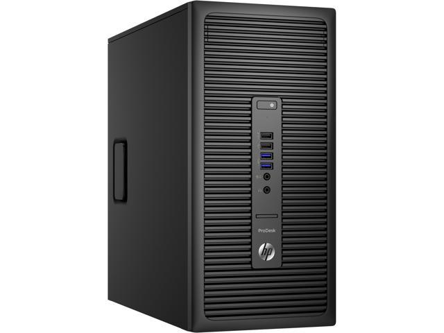 HP Desktop Computer ProDesk 600 G2 (P5U74UT#ABA) Intel Core i5 6500 (3.20 GHz) 8 GB DDR4 500 GB HDD Intel HD Graphics 530 Windows 7 Professional 64-Bit (available through downgrade rights from Windows