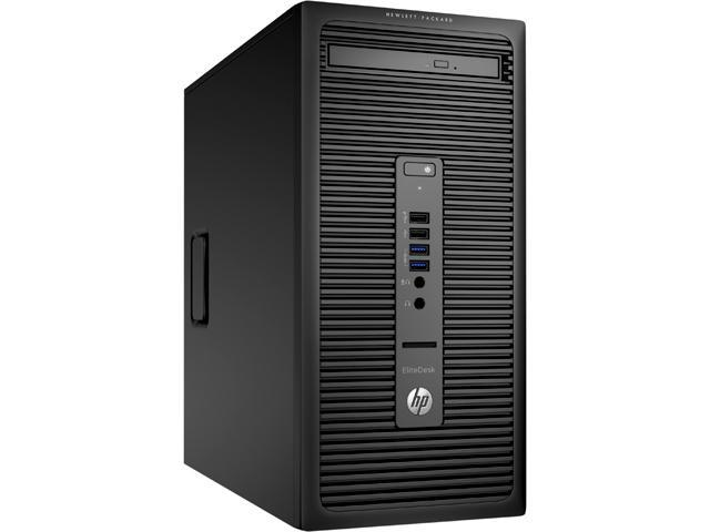 HP Desktop Computer EliteDesk 705 G1 (V2R08UT#ABA) A10-Series APU A10 PRO-7800B (3.50 GHz) 16 GB DDR3 2 TB HDD Windows 7 Professional 64-Bit (available through downgrade rights from Windows 10 Pro)