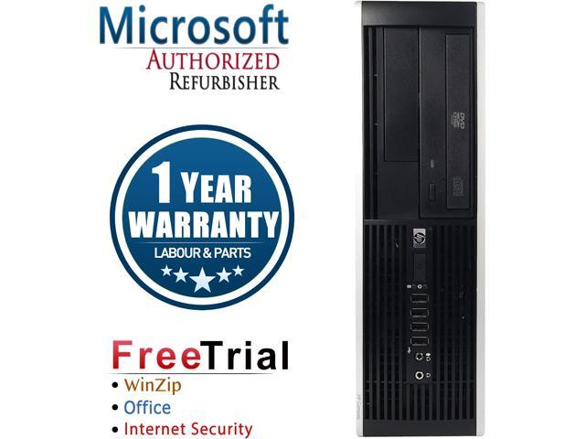 HP Desktop Computer 6000 Pro-SFF Pentium E6300 (2.80 GHz) 8 GB DDR3 2 TB HDD Intel GMA 4500 Windows 10 Pro
