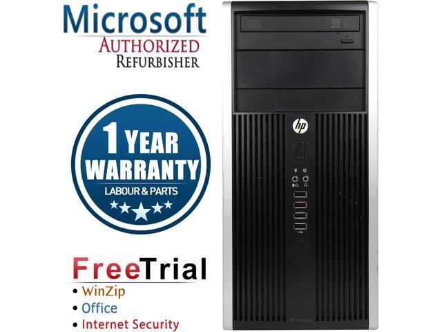 HP Desktop Computer 6200 Pro-Tower Intel Core i5 2400 (3.10 GHz) 4 GB DDR3 1 TB HDD Intel HD Graphics 2000 Windows 10 Pro