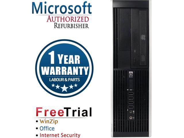 HP Desktop Computer Elite 8200-SFF Intel Core i5 2400 (3.10 GHz) 4 GB DDR3 250 GB HDD Intel HD Graphics 2000 Windows 10 Pro
