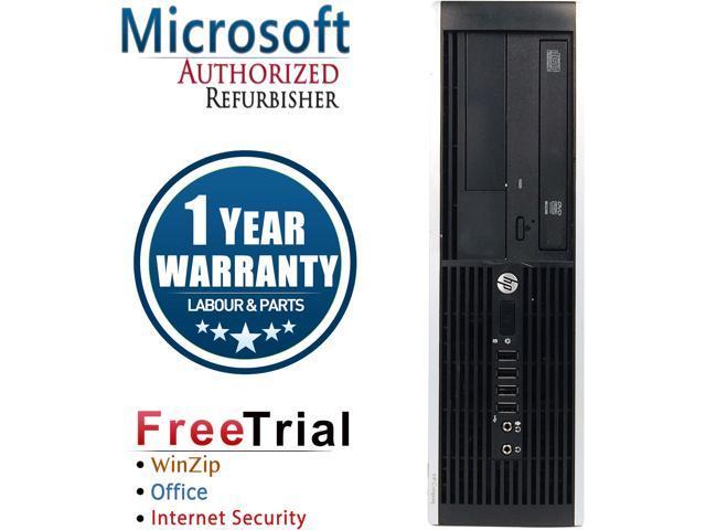 HP Desktop Computer 6305 Pro-SFF A4-Series APU A4-5300B (3.40 GHz) 4 GB DDR3 250 GB HDD AMD Radeon HD 7480D Windows 10 Pro