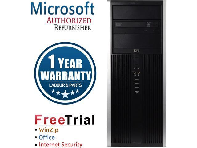 HP Desktop Computer Elite 8200-Tower Intel Core i5 2400 (3.10 GHz) 16 GB DDR3 1 TB HDD Intel HD Graphics 2000 Windows 10 Pro