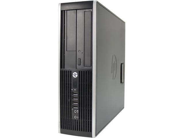 HP Desktop Computer 6200 Intel Core i7 2600S (2.80 GHz) 4 GB 250 GB HDD Windows 10 Pro 64-Bit