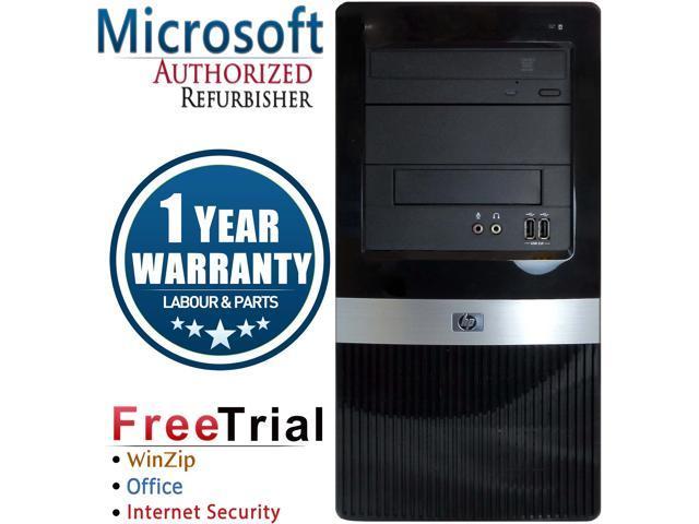 HP Desktop Computer Pro Pro 3130-Tower Pentium G6950 (2.80 GHz) 4 GB DDR3 250 GB HDD ATI Radeon HD 4550 Windows 10 Pro