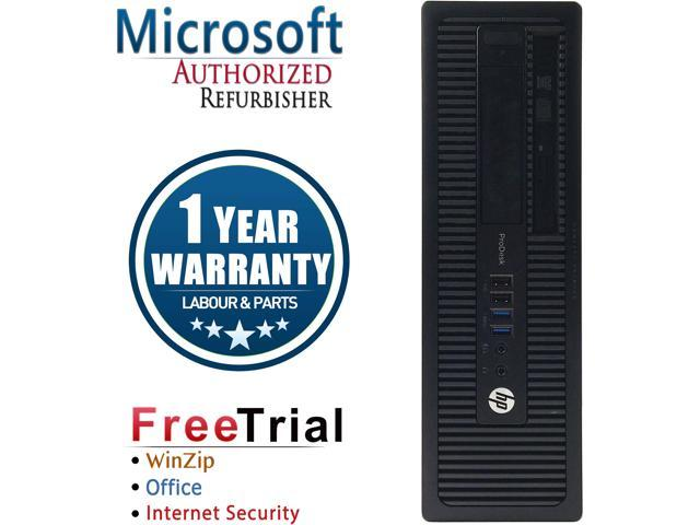 HP Desktop Computer ProDesk 600 G1-SFF Intel Core i5 4570 (3.20 GHz) 8 GB DDR3 2 TB HDD Intel HD Graphics 4600 Windows 10 Pro