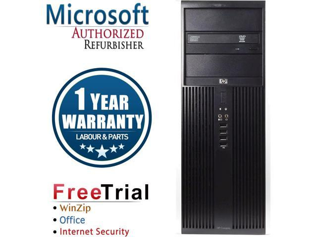 HP Desktop Computer Elite 8100-Tower Intel Core i5 1st Gen 650 (3.20 GHz) 4 GB DDR3 500 GB HDD Intel HD Graphics Windows 10 Pro