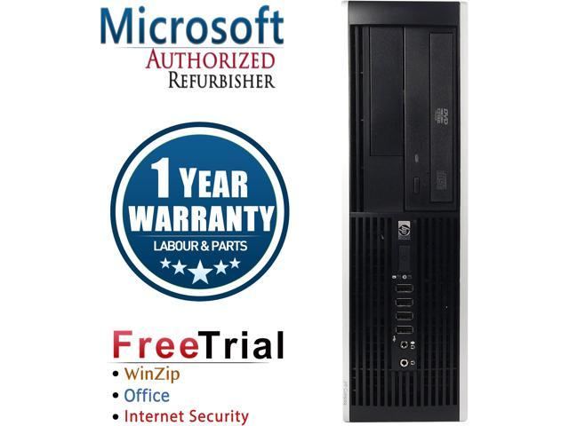 Refurbished HP Compaq 6000 Pro SFF Intel Pentium E6500 3.0G / 4G DDR3 / 1TB / DVD / Windows 7 Professional 64 Bit / 1 Year Warranty