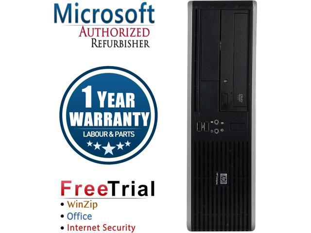 Refurbished HP DC7800 SFF/ Core 2 Duo E8400 3.0G / 4G DDR2 / 1TB / DVD / Windows 7 Professional 64 Bit / 1 Year Warranty