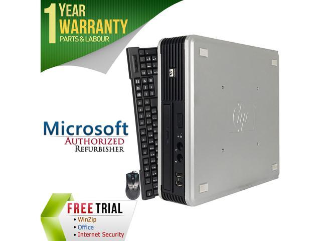 Refurbished HP DC7900 USFF/ Core 2 Duo E7500 2.93G / 4G DDR2 / 80G / Windows 7 Professional 64 Bit / 1 Year Warranty