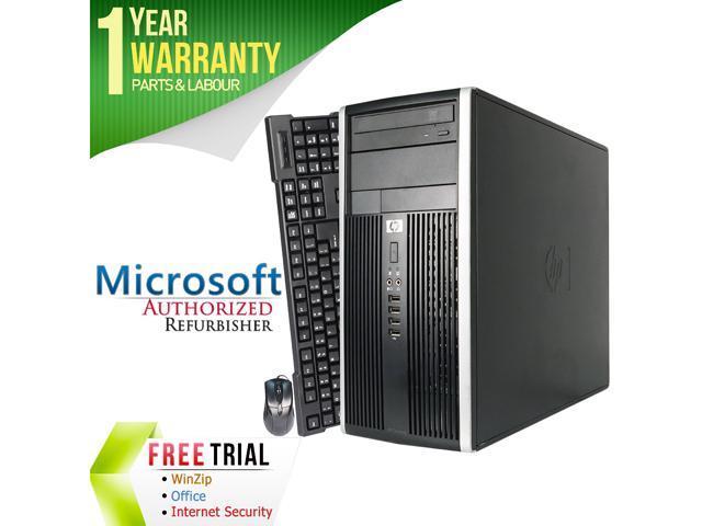 Refurbished HP Compaq Pro 6200 Tower Intel Core i5 2400 3.1G / 8G DDR3 / 320 GB / DVD Writer / Windows 7 Professional 64 Bit / 1 Year Warranty